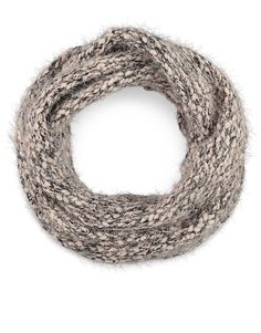 Eyelash Knit Snood. To keep her warm on those cold winter days.