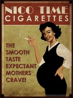 Cigarette smoking whilst pregnant?