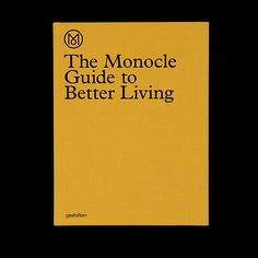 UNIONMADE - Bookshop - The Monocle Guide To Better Living
