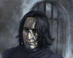 Severus by Handwolfy.deviantart.com on @deviantART