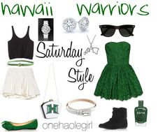 Oct University of Hawaii University Of Hawaii, College Hacks, Hawaiian, Mom, Inspired, My Style, Polyvore, How To Wear, Closet