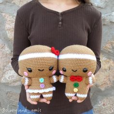 Sugar and Spice, the Gingerbread Twins!