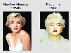 "Madonna > ""Marilyn look""/ Marilyn Monroe was The Original Hollywood Mind Control Slave (same mind programs which  Nazis used and CIA still use)/ Study the real truth about music/movie industry>MK Ultra, Monarch, Sex kitten (slave programs) underworld & symbols for Mind Control Programming in Hollywood"