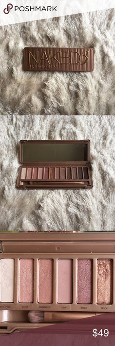⭐SALE!!⭐💕URBAN DECAY NAKED 3 PALETTE🎀 This is such a beautiful palette! Sadly rose toned colors do not look that flattering on me. All the colors have been swatched and I used the color trick about twice. This palette needs a good home! It has just been sitting in my makeup drawer. I know someone will get more use out of it than me.😀 🚫No trades ✅Open to reasonable offers  💝Bundle and save Urban Decay Makeup Eyeshadow