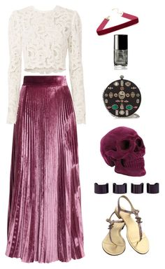 Untitled #960 by lbenigni on Polyvore featuring polyvore fashion style A.L.C. LUISA BECCARIA Chanel Alexander McQueen Maison Margiela clothing