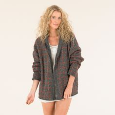 Gorgeous oversized boyfriend cardie from The Sublime Luxurious Tweed DK book Summer 14 Collection Knitting Books, Knitting Yarn, Hand Knitting, Shade Card, Rowan Yarn, Hippie Skirts, Knitting Supplies, Double Knitting, Tweed