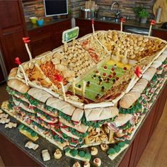 Awesome snack idea for superbowl party!