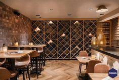 HEKKER  Interieurbouw - Gouds glas - TOOKO – Inspiratie voor een exclusieve werkomgeving Unique Buildings, Beautiful Buildings, Classic French Dishes, Design Hotel, Drinking Tea, Restaurant Bar, Ramen, Interior Design, House Styles