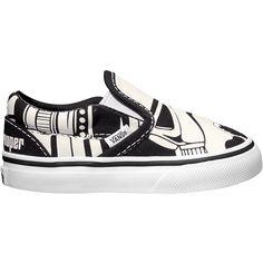 Vans Classic Slip-On Star Wars Stormtrooper Skate Shoe - Toddlers'