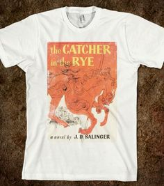Catcher In The Rye (Vintage) - VINTAGE DROP, SHOP - Skreened T-shirts, Organic Shirts, Hoodies, Kids Tees, Baby One-Pieces and Tote Bags