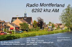 Radio Montferland QSL