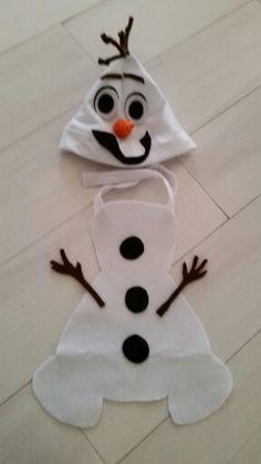 Olaf costume diy for newborn
