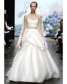 Ball Gown- - ML fall 2012- love the top as usual but not the bottom