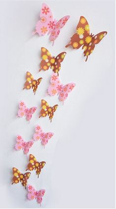 Home Decor Poster for Rooms wedding Wall DecorationsPattern: Plane Wall StickerStyle: EuropeTheme: AnimalClassification: For Wall,For RefrigeratorScenarios: WallSpecification: Single-piece PackageMaterial: PlasticModel Number: Butterfly Sticker 3d Butterfly Wall Decor, Cute Butterfly, 3d Butterfly Wall Stickers, Butterfly Decorations, Butterfly Design, Wedding Wall Decorations, Room Decorations, Paper Crafts Origami, Wall Stickers Home Decor