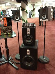 #EveAudio #SC204 and subwoofers #TS107 & #TS110