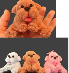 How to make a puppy from a washcloth and other Origami towel animals