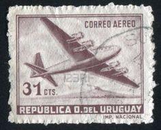 URUGUAY - CIRCA 1947