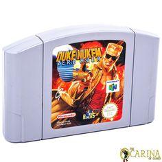 Duke Nukem: Zero Hour (Nintendo for sale online Zero Hour, Nintendo 64 Games, Game Sales, Duke, Coding, Retro, Ebay, Retro Illustration, Peacocks