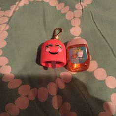 Cute BFF hand sanitizer set ( it came with 2 cases but my BFF has it  ) this is perfect for back to school and you and your BFF , or even a gift for a friend