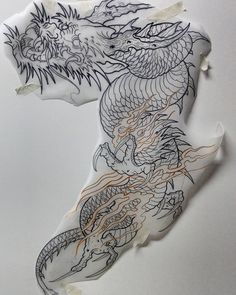 Tattoo dragon asian japanese art Super ideas Best Picture For tattoo quotes with flowers Japanese Dragon Tattoos, Japanese Tattoo Art, Japanese Tattoo Designs, Japanese Sleeve Tattoos, Japanese Art, Asian Dragon Tattoo, Koi Tattoo Design, Dragon Tattoo Designs, Hannya Tattoo