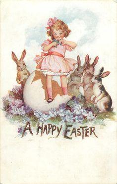 Frances Brundage - Easter card