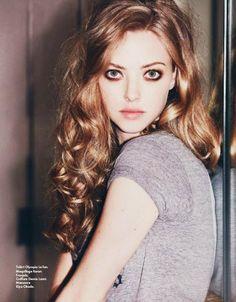 Makeup Inspiration - Hair Inspiration - Celebrity Style - Amanda Seyfried - School Appropriate