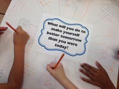 Chalk Talks are reflective routines that allow all students to simultaneously share their thoughts, ideas, and wonderings in a judgement-free zone.