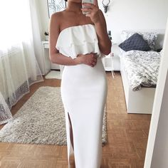 Charming Chiffon Beading Prom Dress, on Luulla Trendy Outfits, Cool Outfits, Summer Outfits, Fashion Outfits, Womens Fashion, Cute Dresses, Prom Dresses, Formal Dresses, Dress Up