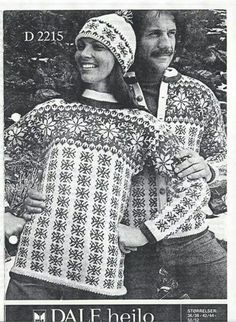 Dale 2215 Norwegian Knitting, Barbie, Fair Isle Knitting, Vintage Knitting, Norway, Christmas Sweaters, Knitting Patterns, Men Sweater, Crochet