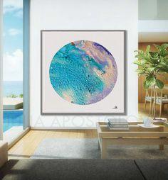 #45inch,'' #Tropical Thoughts'', #Circle #Canvas, #Print, #Turquoise #WallArt, #BeachDecor #HouseDecor, #CirclePainting, #Abstract #ArtPrints, #Coastal, #Aquamarine #Sea #Painting #BlueAbstract #BlueandWhite #Art #Aqua #Turquoise Abstract #WallArt #Turquoise #Prints #abstractart #minimalistart #livingroomdecor #Etsy #EtsyArtist #EtsyShop #walldecor #watercolor # #artcollectors #interiordesigners #abstractcanvasart #contemporaryartist #juliaapostolova #abstractpaintings #interiordes