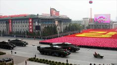 BBC News - In pictures: North Korea parade