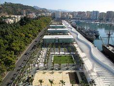 El Puerto de Málaga tendrá una noria de 70 metros