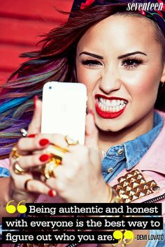 Demi Lovato Most Inspiring Quotes — Demi Lovato Pinterest Quotes - Seventeen