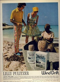 Lilly Pulitzer/Wind Drift Combo Ad- 1970s