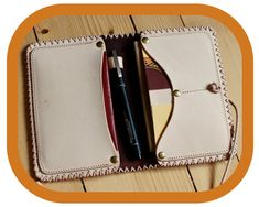 Travel Organizer Wallet – Dark Brown Leather - Passport Cover – Travel Documents and Notebook Holder - Handcrafted – Hand tooled – Rustic Leather Bags, Leather And Lace, Leather Craft, Tan Leather, Leather Wallet, Festival Accessories, Travel Organization, Passport Cover, Dark Brown Leather