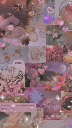 Pink dreamy aesthetic wallpaper