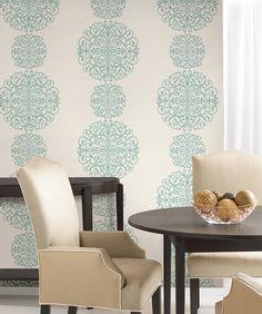 Salon by Kenneth James #wallpaper #homedecor