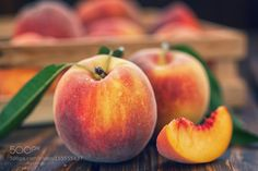 Fresh Peaches by K2PhotoStudio #food #yummy #foodie #delicious #photooftheday #amazing #picoftheday
