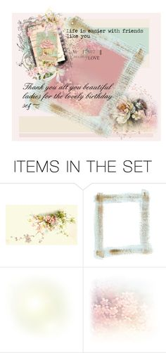 """""""Thank you dear hearts~"""" by cherry-layne ❤ liked on Polyvore featuring art"""