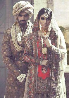 High Fashion Pakistan — Fahad Hussayn, Gulzar Manzil Court Editions, F/W. Oriental Fashion, Ethnic Fashion, Asian Fashion, High Fashion, Pakistani Wedding Dresses, Pakistani Bridal, Pakistani Culture, Pakistan Wedding, Indian Bridal Fashion