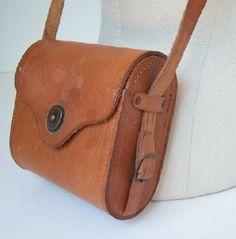 RESERVE FOR DIRTYPONY Leather Binocular Case--fun spyware stash purse