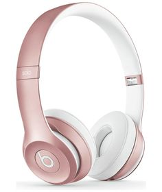 Buy Beats Solo2 Wireless Headphones - Rose Gold  These are beauuutiful! Love love love!!