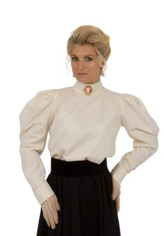Gabriella Victorian Blouse By Recollections