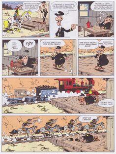 Lo Hartog Van Banda's Lucky Luke is as good as Rene Goscinny