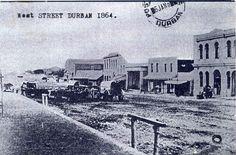 Durban West Street 1864 African History, Genealogy, Good To Know, South Africa, Maine, Nostalgia, Weird, Street, Photos