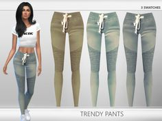 Here is another sims 4 cc i found while scrolling through tumblr ill have more cc up for the next 4 days because i will be off of school on those days its some beautiful pants but heres the catch YOU MUST HAVE AND YOU NEED SIMS 4 GET TO WORK EXPANSION PACK i have this but in case if you dont so here is the DOWNLOAD: http://simfileshare.net/download/128116/ i did not create this cc i dont create cc at all it was created by Puresim so here is the WEBSITE: http://xpuresim.tumblr.com/
