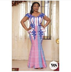 African Fashion Dresses, African Dress, Fashion Outfits, Island Style Clothing, Kente Dress, Kente Styles, Elegant Designs, Feminine Style, Formal Dresses