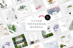Bring your creative projects to life with over 3 million unique fonts, graphics, themes, photos, and templates designed by independent creators around the world. Social Media Template, Social Media Design, Tips Instagram, Instagram Posts, Instagram Design, Instagram Story, Instagram Feed, Instagram Layouts, Twitter Design