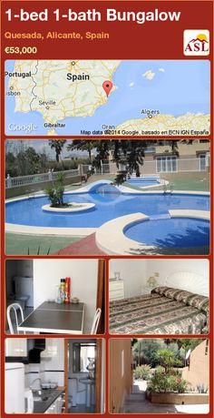 1-bed 1-bath Bungalow in Quesada, Alicante, Spain ►€53,000 #PropertyForSaleInSpain