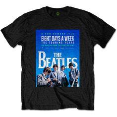 The Beatles Mens Tee: 8 Days a Week Movie Poster Wholesale Ref:BEATTEE320MB